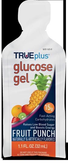TRUEplus Glucose Gel Pouch