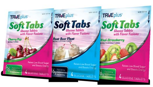 TRUEplus Glucose Soft Tabs 4ct